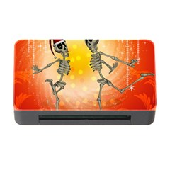 Dancing For Christmas, Funny Skeletons Memory Card Reader with CF