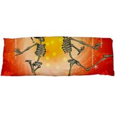 Dancing For Christmas, Funny Skeletons Body Pillow Cases (Dakimakura)