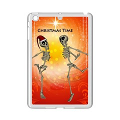 Dancing For Christmas, Funny Skeletons iPad Mini 2 Enamel Coated Cases