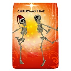 Dancing For Christmas, Funny Skeletons Flap Covers (S)