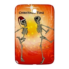 Dancing For Christmas, Funny Skeletons Samsung Galaxy Note 8.0 N5100 Hardshell Case