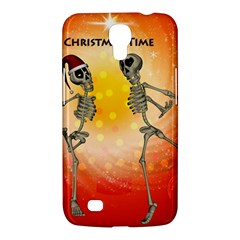 Dancing For Christmas, Funny Skeletons Samsung Galaxy Mega 6.3  I9200 Hardshell Case