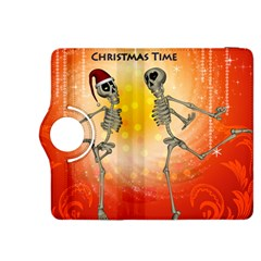 Dancing For Christmas, Funny Skeletons Kindle Fire HDX 8.9  Flip 360 Case