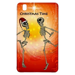 Dancing For Christmas, Funny Skeletons Samsung Galaxy Tab Pro 8.4 Hardshell Case