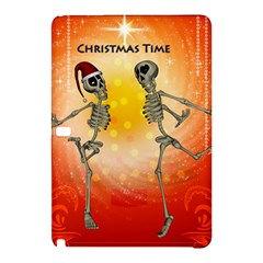 Dancing For Christmas, Funny Skeletons Samsung Galaxy Tab Pro 12.2 Hardshell Case