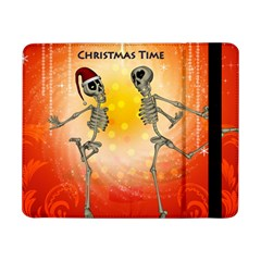 Dancing For Christmas, Funny Skeletons Samsung Galaxy Tab Pro 8 4  Flip Case