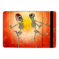 Dancing For Christmas, Funny Skeletons Samsung Galaxy Tab Pro 10.1  Flip Case