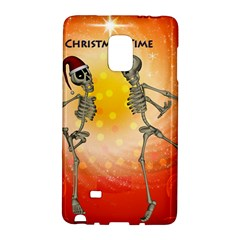 Dancing For Christmas, Funny Skeletons Galaxy Note Edge