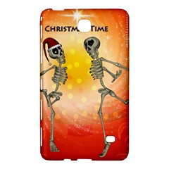 Dancing For Christmas, Funny Skeletons Samsung Galaxy Tab 4 (8 ) Hardshell Case