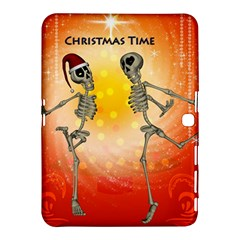 Dancing For Christmas, Funny Skeletons Samsung Galaxy Tab 4 (10 1 ) Hardshell Case