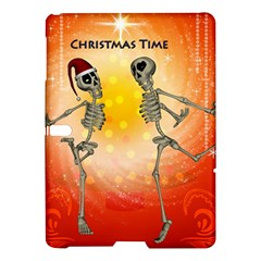 Dancing For Christmas, Funny Skeletons Samsung Galaxy Tab S (10 5 ) Hardshell Case