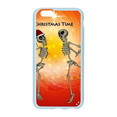 Dancing For Christmas, Funny Skeletons Apple Seamless iPhone 6/6S Case (Color)