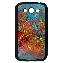 Abstract in Red, Turquoise, and Yellow Samsung Galaxy Grand DUOS I9082 Case (Black)