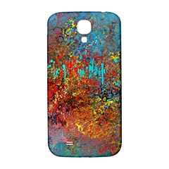Abstract In Red, Turquoise, And Yellow Samsung Galaxy S4 I9500/i9505  Hardshell Back Case