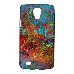 Abstract in Red, Turquoise, and Yellow Galaxy S4 Active