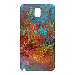 Abstract in Red, Turquoise, and Yellow Samsung Galaxy Note 3 N9005 Hardshell Back Case