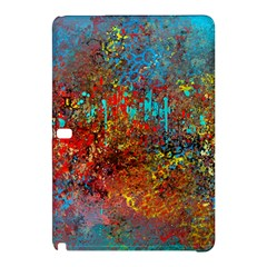 Abstract in Red, Turquoise, and Yellow Samsung Galaxy Tab Pro 10.1 Hardshell Case