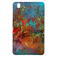 Abstract In Red, Turquoise, And Yellow Samsung Galaxy Tab Pro 8 4 Hardshell Case