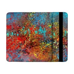 Abstract in Red, Turquoise, and Yellow Samsung Galaxy Tab Pro 8.4  Flip Case
