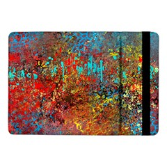 Abstract in Red, Turquoise, and Yellow Samsung Galaxy Tab Pro 10.1  Flip Case
