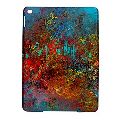 Abstract In Red, Turquoise, And Yellow Ipad Air 2 Hardshell Cases