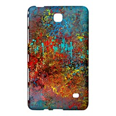 Abstract in Red, Turquoise, and Yellow Samsung Galaxy Tab 4 (7 ) Hardshell Case