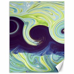 Abstract Ocean Waves Canvas 12  X 16