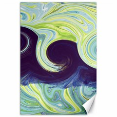 Abstract Ocean Waves Canvas 20  X 30