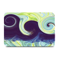 Abstract Ocean Waves Plate Mats