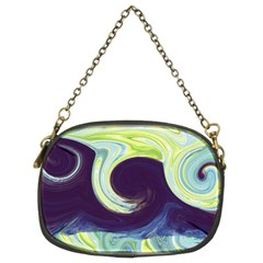 Abstract Ocean Waves Chain Purses (Two Sides)