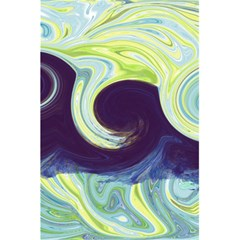 Abstract Ocean Waves 5.5  x 8.5  Notebooks
