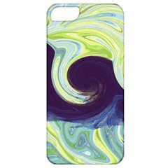 Abstract Ocean Waves Apple iPhone 5 Classic Hardshell Case