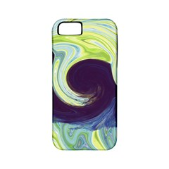 Abstract Ocean Waves Apple Iphone 5 Classic Hardshell Case (pc+silicone)