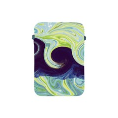 Abstract Ocean Waves Apple Ipad Mini Protective Soft Cases