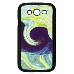 Abstract Ocean Waves Samsung Galaxy Grand DUOS I9082 Case (Black)