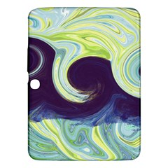 Abstract Ocean Waves Samsung Galaxy Tab 3 (10 1 ) P5200 Hardshell Case