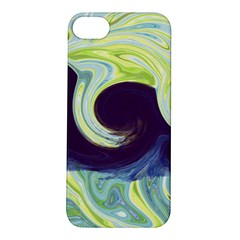 Abstract Ocean Waves Apple iPhone 5S Hardshell Case