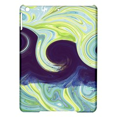 Abstract Ocean Waves iPad Air Hardshell Cases