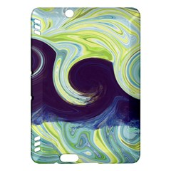 Abstract Ocean Waves Kindle Fire HDX Hardshell Case