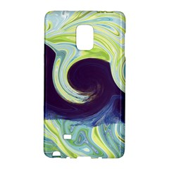 Abstract Ocean Waves Galaxy Note Edge