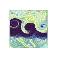 Abstract Ocean Waves Satin Bandana Scarf