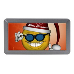 Funny Christmas Smiley With Sunglasses Memory Card Reader (Mini)