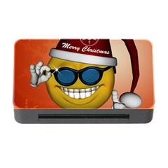Funny Christmas Smiley With Sunglasses Memory Card Reader With Cf