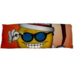 Funny Christmas Smiley With Sunglasses Body Pillow Cases Dakimakura (Two Sides)