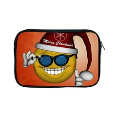 Funny Christmas Smiley With Sunglasses Apple iPad Mini Zipper Cases