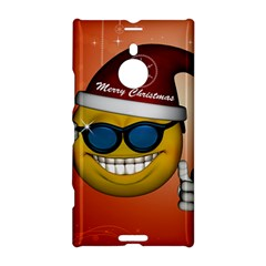 Funny Christmas Smiley With Sunglasses Nokia Lumia 1520