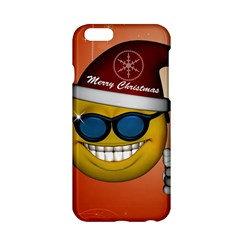 Funny Christmas Smiley With Sunglasses Apple Iphone 6/6s Hardshell Case
