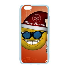 Funny Christmas Smiley With Sunglasses Apple Seamless iPhone 6/6S Case (Color)