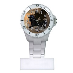 Awesome Dark Unicorn With Clouds Nurses Watches