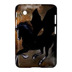 Awesome Dark Unicorn With Clouds Samsung Galaxy Tab 2 (7 ) P3100 Hardshell Case